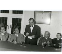 Handelsbeurs. Openingsrede Burgemeester Otte, 1970.