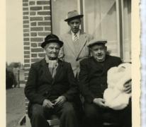 Viergeslacht van de familie Westelinck, Merelbeke, 1956
