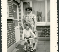 Marc Moerman en Maria Westelinck, Merelbeke, 1962