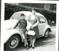 Familie Moerman, Merelbeke, 1966