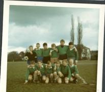 Voetbalspelers Paul Johannescollege, Merelbeke, 1969
