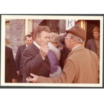 Welkomstfeest voor het bezoek van mevrouw Salisbury, Merelbeke, 1971