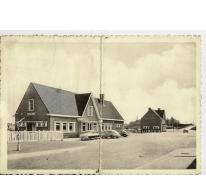 Prentkaart van station Merelbeke