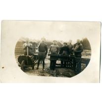 Merelbekenaren aan het werk in een steenbakkerij, Evere, 1923