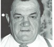 Portret van Marcel Neveians of reus Ruut, Melle