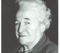 Portret van Maria Poelman of reuzin Mapoe, Melle