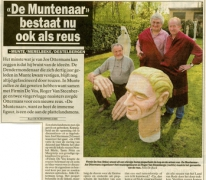 Artikel ontstaan reus De Muntenaar, Munte, 2000