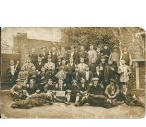 Samenkomst opgeëisten, Sint-Lievens-Houtem, 1914-1918