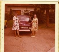 Lotje Kesteleyn en Alice Lachaert, Ardennen, 1960-1970