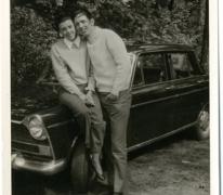 Frida Van Der Straeten en Paul Vlaeminck, Duitsland, 1969