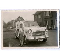 Paul en Frank Vlaeminck, Merelbeke, 1960