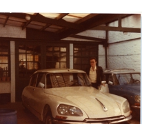 De eerste wagen van Donald De Bock, Merelbeke, 1978