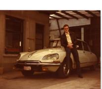 De Citroën Déesse van Donald De Bock, Merelbeke, 1978