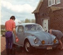 De auto van de familie Waeytens, Balegem, 1960