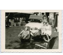 Zonnen aan de wagen, jaren 1950