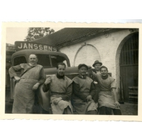 Werknemers van brouwerij Janssens, Balegem, 1952