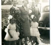Familie Van Herpe, Balegem, 1955