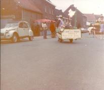 Een 2 pk in de Bacchusstoet, Sint-Lievens-Houtem, 1964