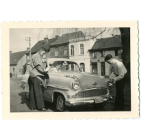 Opel Record van familie De Paepe, Merelbeke, jaren 1960