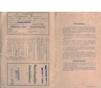 Maatschappelijke zekeringskaart Etabl. Francois Saey s.a., Sint-Lievens-Houtem, 1949