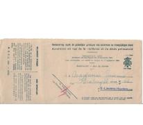 Verzekeringskaart van Maegerman Germaine, Sint-Lievens-Houtem, 1949