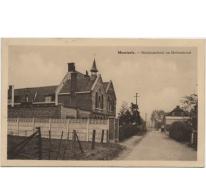 Meisjesschool en Molenstraat, Moortsele