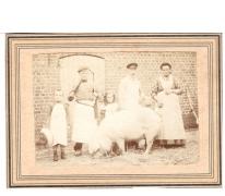 Beenhouwers Schietse, Munte, begin 1900