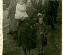 Op Houtem Jaarmarkt, Sint-Lievens-Houtem, 1952