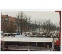 Kramen op Houtem Jaarmarkt, Sint-Lievens-Houtem, 1995