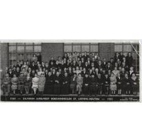 Zilveren jubileumfeest Boerinnengilde, Sint-Lievens-Houtem, 1955