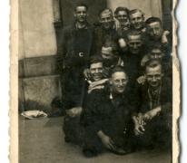 Vrienden verenigd na oorlogstijd, Sint-Lievens-Houtem, 1945