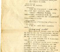 Dossier inzake het arbeidsongeval van Valère Moerman, Marly, 1942-1943