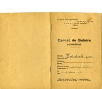 Loonboekje, Merelbeke, 1930
