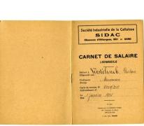 Loonboekje, Merelbeke, 1935