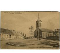 MELLE, Kerk en Dorpplaats