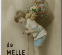Postkaart uit Melle 1920