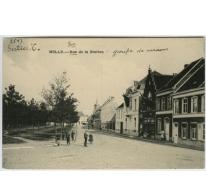 MELLE. -- Rue de la Station - groupe de maisons