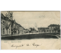Melle. Place de la Station.