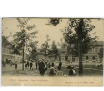 MELLE. - Statieplaats - Place de la Station
