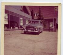 Reclame voor Garage Sint-Anna, Bottelare, 1960-1970