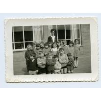 Het tweede leerjaar op de foto, Letterhoutem, 1970-1975