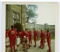 Wielertoeristen, Sint-Lievens-Houtem, 1970-1980