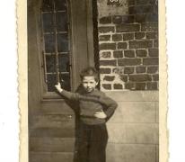 Geboortehuis van Eddy Van Cauwenberge, Balegem