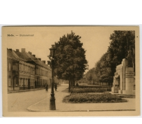 Melle.- Stationstraat