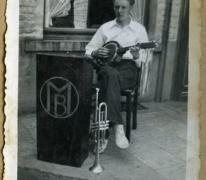 Banjospeler, Melle, 1950-1970