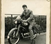 Op de motorfiets, Melle, 1960-1980