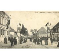 Zomerkermis te Melle aan de Appelhoek, 1905