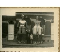 Melse reuzen, Melle, 1950-1970