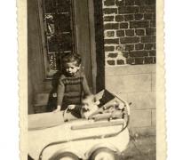 Kinderwagen na de oorlog, Balegem