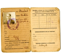 Identiteitskaart, Jeumont, 1922